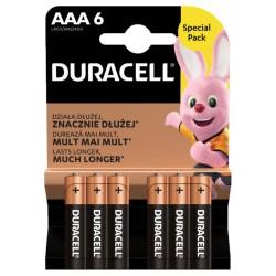 Duracell Basic MN2400 AAA BL6