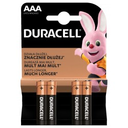 Duracell Basic MN2400 AAA BL4