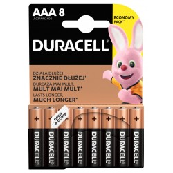 Duracell Basic MN2400 AAA BL8