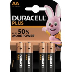 Duracell Plus MN1500 AA BL4