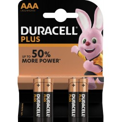 Duracell Plus MN2400 AAA BL4