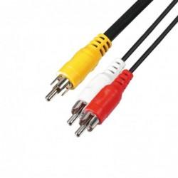 Audio kábel, 3 RCA...