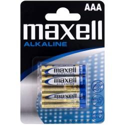 Maxell Alkaline LR03 BL4