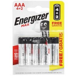 Energizer Max LR03 BL4+2