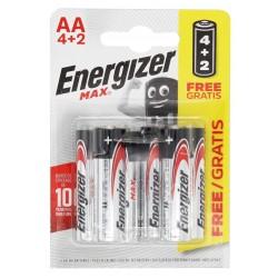 Energizer Max LR06 BL4+2