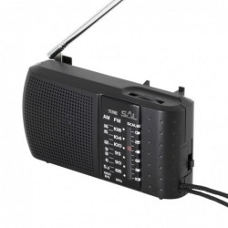 Prenosné rádio, 2 pásmové -...
