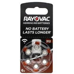 Rayovac 312 BL6