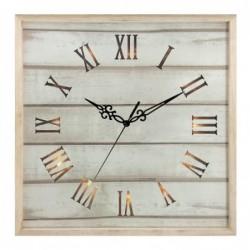 Nástenné hodiny, drevené, s...