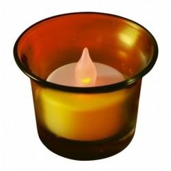 LED čajová sviečka, so...