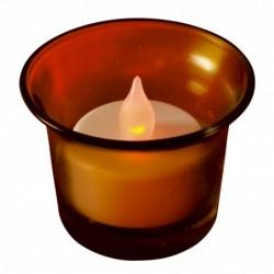 LED čajová sviečka, s...