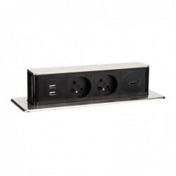 Solight USB výsuvný blok...